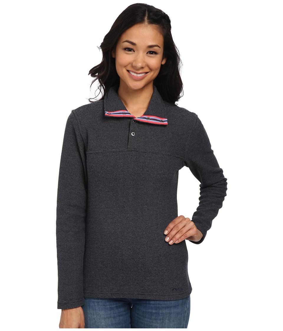 Mountain Khakis Pop Top Pullover Jacket Navy Womens Jacket