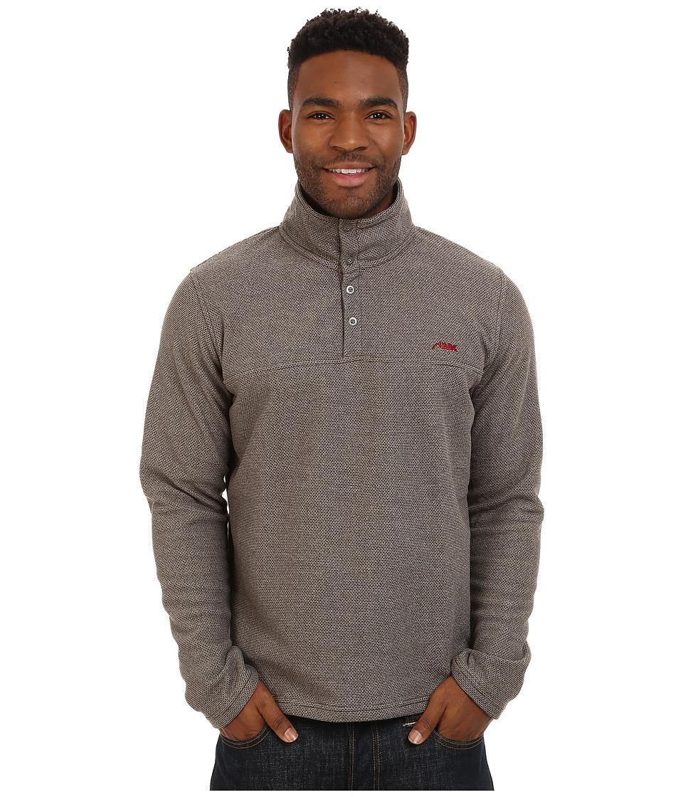 Mountain Khakis - Pop Top Pullover Jacket (Terra) Mens Coat