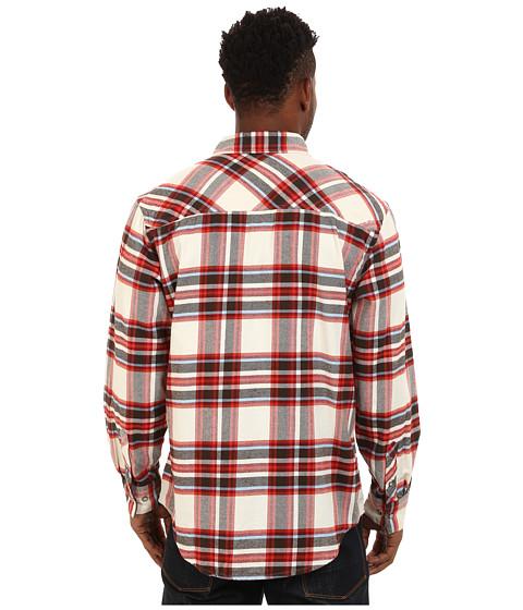 Mountain khakis teton flannel shirt cream for Athletic cut flannel shirts