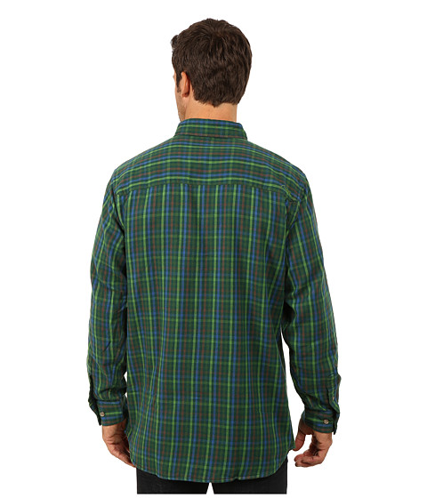 Mountain khakis downtown flannel shirt midnight blue for Athletic cut flannel shirts
