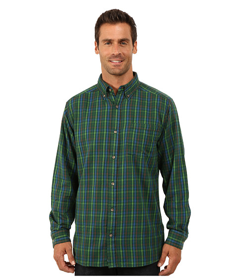 Mountain khakis downtown flannel shirt hunter for Athletic cut flannel shirts