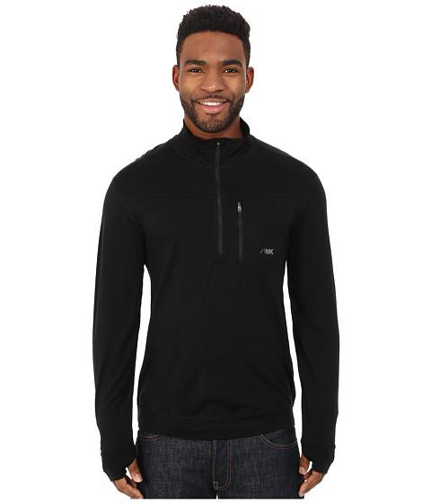 Mountain Khakis Rendezvous Micro Qtr Zip Shirt - Black