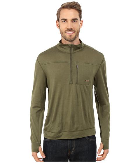 Mountain Khakis Rendezvous Micro Qtr Zip Shirt - Field Green