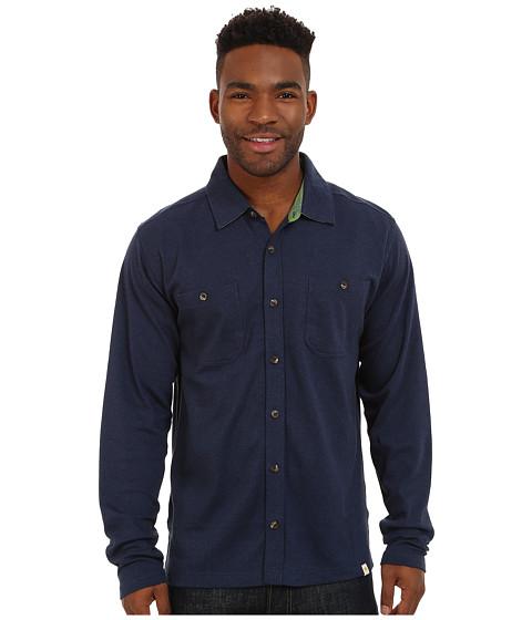 Mountain Khakis Eagle Long Sleeve Shirt - Navy