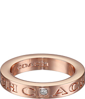 COACH - Pave Metal Ring