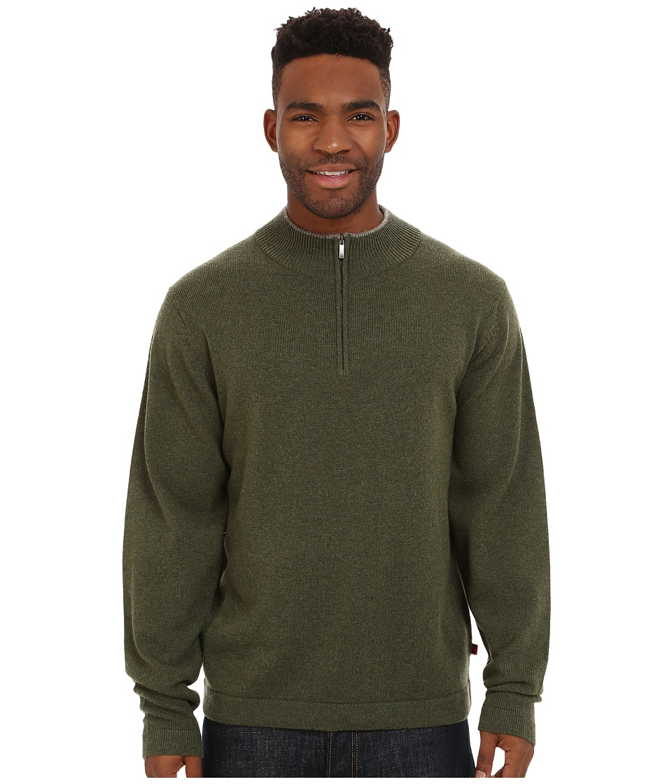Mountain Khakis Lodge Qtr Zip Sweater (Loden) Men