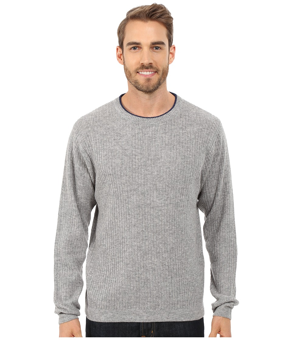 Mountain Khakis Lodge Crew Neck Sweater (Heather Grey) Men