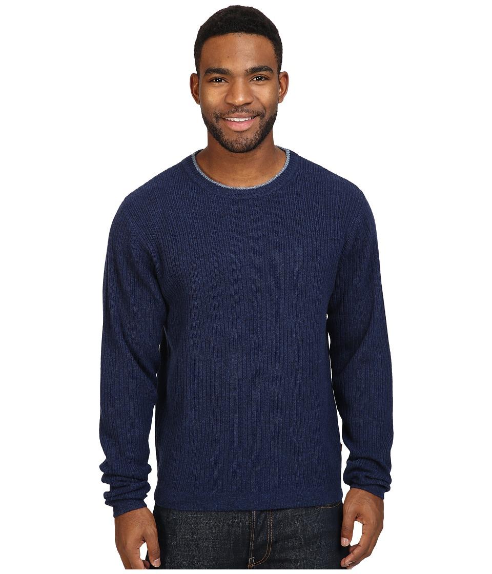Mountain Khakis Lodge Crew Neck Sweater (Midnight) Men
