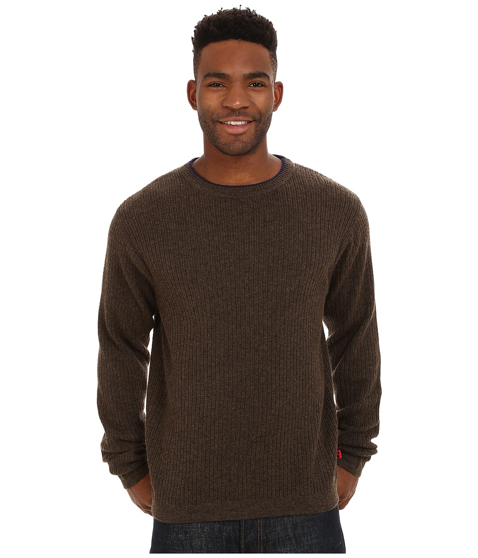 Mountain Khakis Lodge Crew Neck Sweater (Coffee) Men