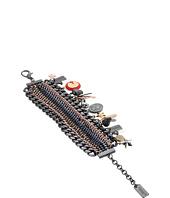 COACH - Tribal Tonal Charm Bracelet