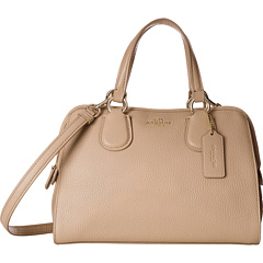 $140.3 COACH Refined Grain Leather Mini Nolita Satchel