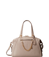 COACH - Pebbled Prairie Satchel w Chain