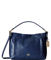 COACH - Embossed Python Scout Hobo