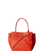 COACH - Refined Pebble Leather Small Turnlock Tie Tote