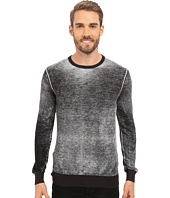 Kenneth Cole Sportswear - Long Sleeve Acid Wash Crew