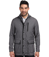 Kenneth Cole Sportswear - Leather Trim Anorak