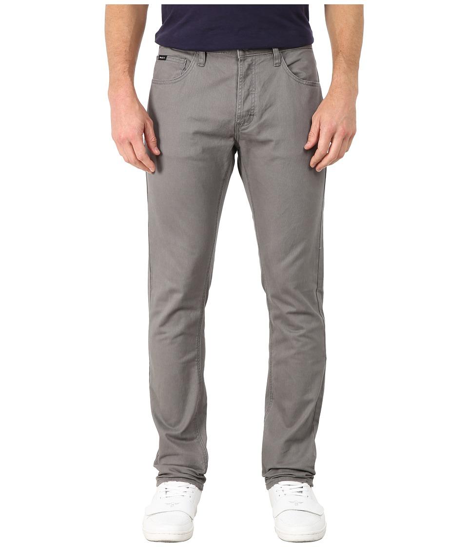 RVCA - Stay RVCA Pant (Smoke) Mens Casual Pants