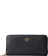 COACH - Embossed Txrd Leather Acc Zip