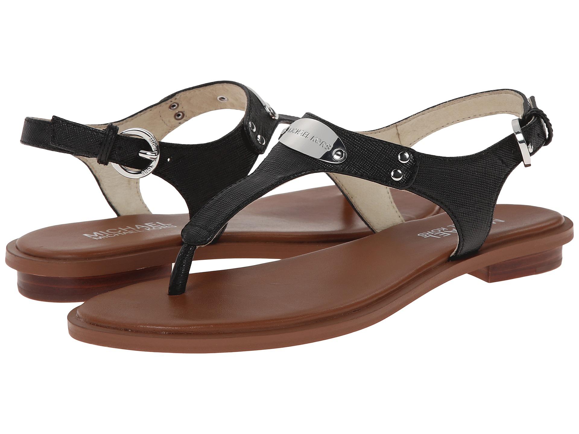 Black mk sandals - Black Mk Sandals 12