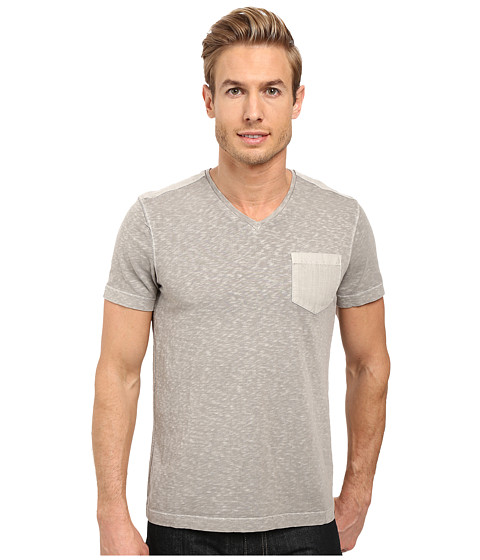 Kenneth Cole Sportswear Acid Washed V-Neck