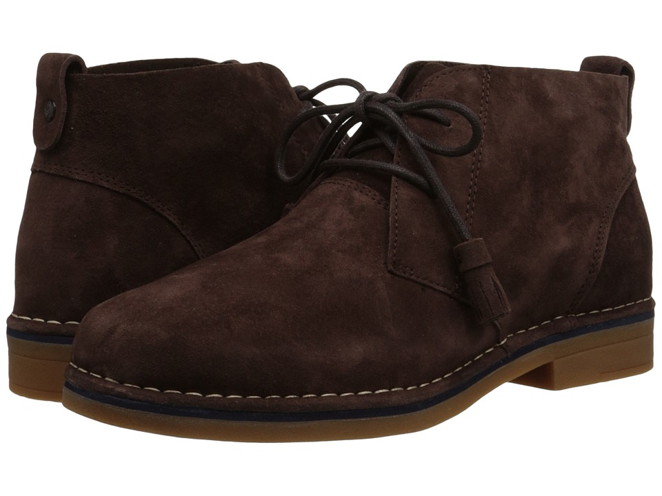 Hush Puppies Cyra Catelyn (Dark Brown Suede) Women's Lace-up Boots