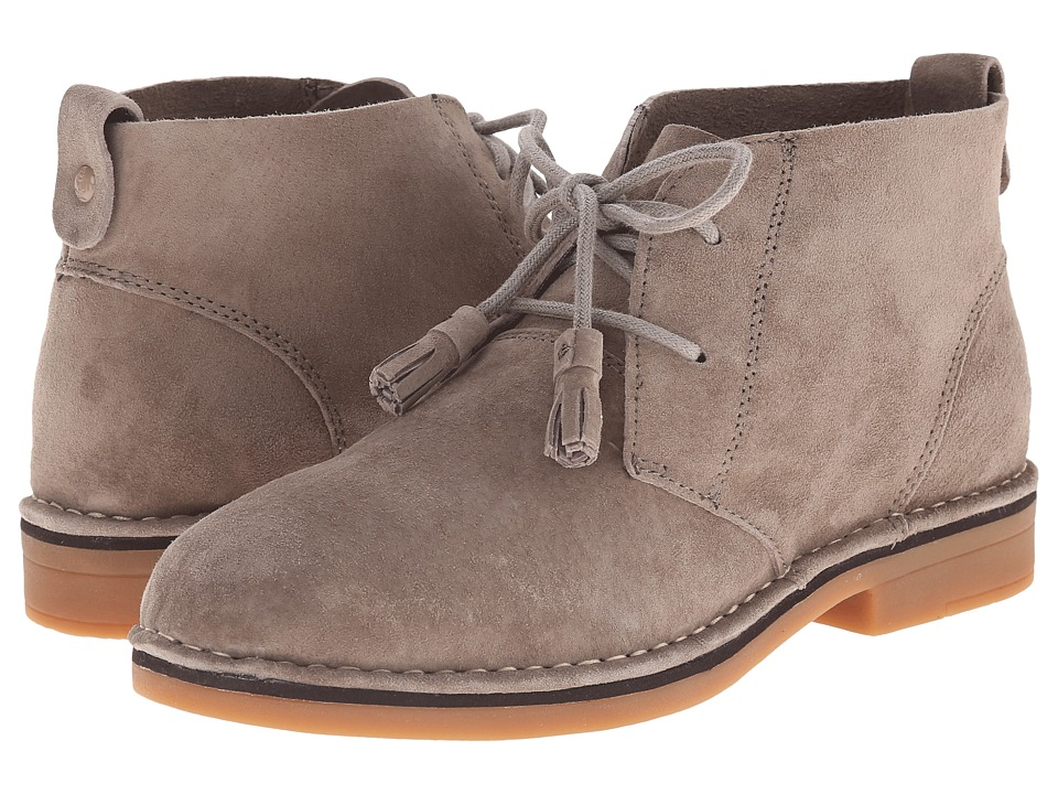 Hush Puppies Cyra Catelyn (Taupe Suede) Women's Lace-up Boots