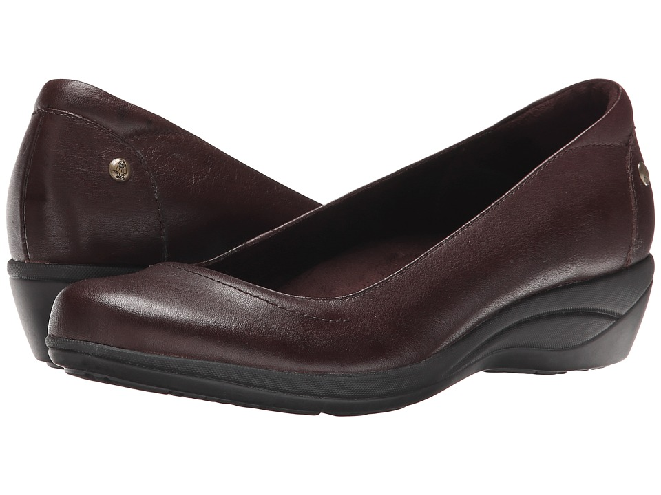 Hush Puppies - Veda Oleena (Dark Brown Leather) Women