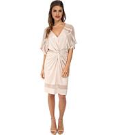 ABS Allen Schwartz - Twist Front Kimono Dress