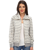 Calvin Klein - Mixed Striped Funnel Neck Jacket