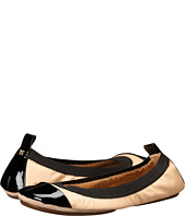 Yosi Samra - Samantha Soft Leather Fold Up Flat with Contrast Cap Toe