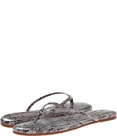 Yosi Samra - Roee Snake Leather Flip Flop