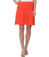 BCBGMAXAZRIA - Anea Pointelle Peplum Skirt