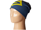 Salomon Flat Spin Reversible Beanie (Big Blue-X/Midnight Blue/Light Alpha Yellow)