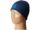 Salomon Logo Beanie (Midnight Blue)