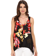 Adrianna Papell - Cascading Placement Printed Top