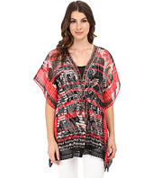 Adrianna Papell - Placement Print Kaftan Top