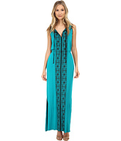 Adrianna Papell - Sleeveless Embroidered Maxi