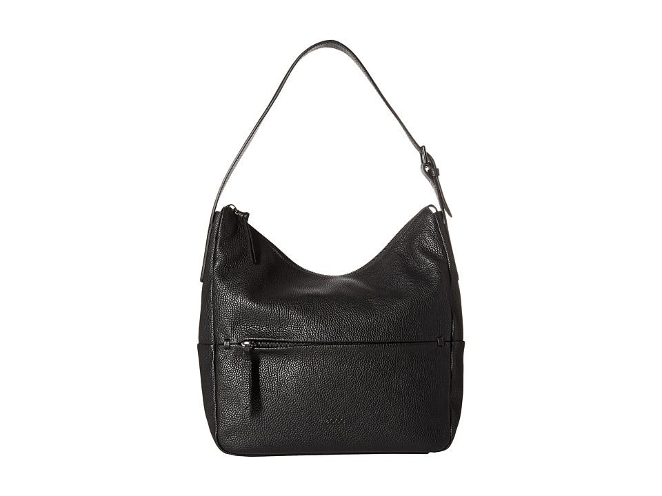 ECCO - SP Hobo Bag (Black) Hobo Handbags