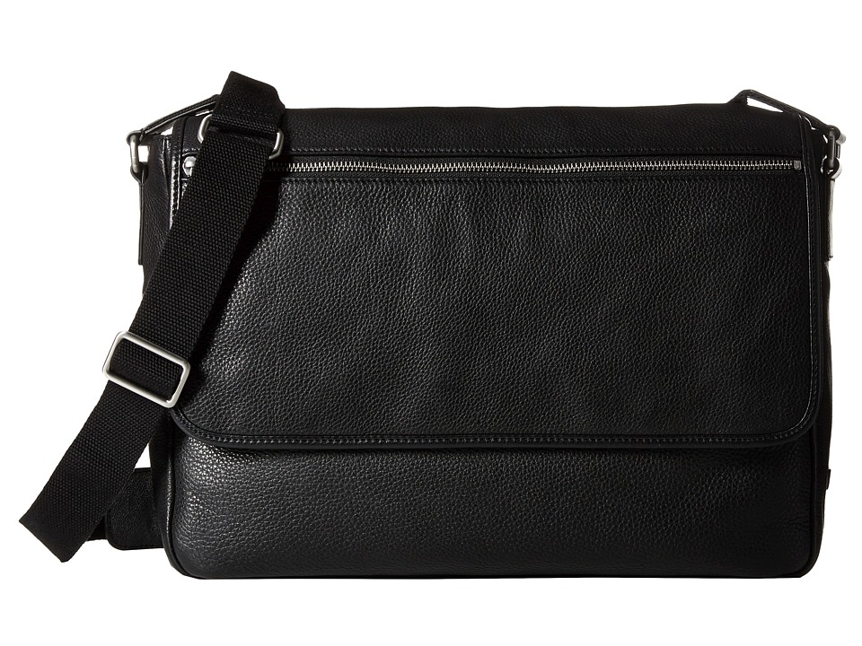 ECCO - Gordon Messenger (Black) Messenger Bags