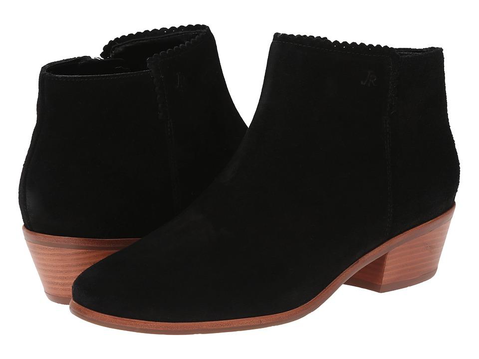 Jack Rogers Bailee Suede Black Womens Boots