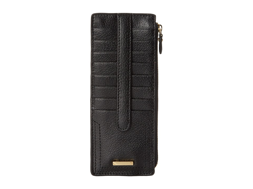 Lodis Accessories - Stephanie RFID Under Lock Key Credit Card Case w/ Zipper Pocket (Black) Credit card Wallet