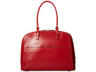 Lodis Accessories Audrey Buffy Brief Satchel (Red/Black)
