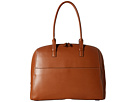 Lodis Accessories Audrey Buffy Brief Satchel (Toffee/Chocolate)