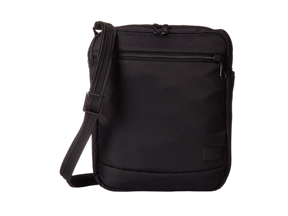 Pacsafe - Citysafe CS150 Anti-Theft Crossbody Shoulder Bag (Black) Cross Body Handbags