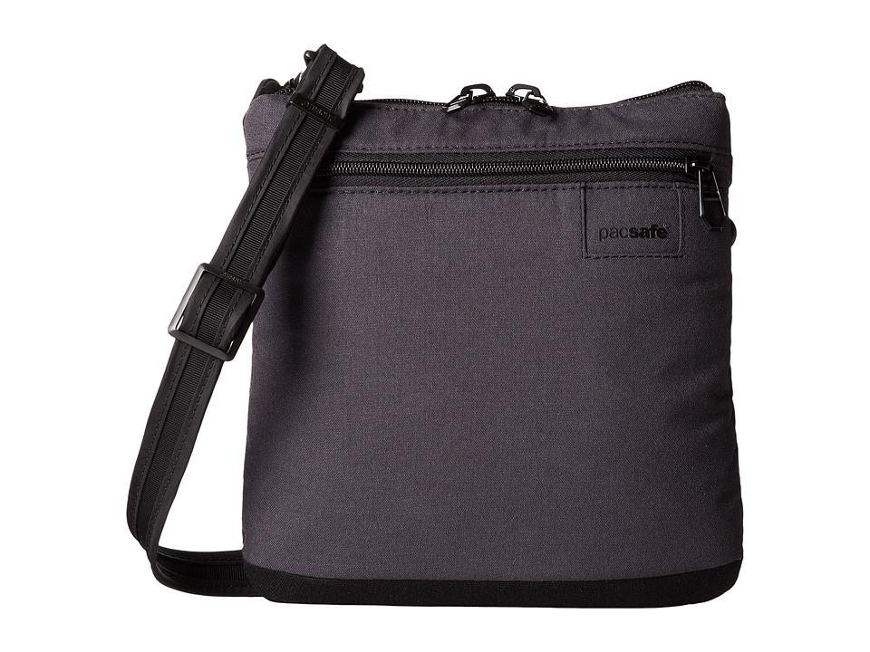 Pacsafe - Citysafe LS50 Anti-Theft Crossbody Purse (Black) Cross Body Handbags