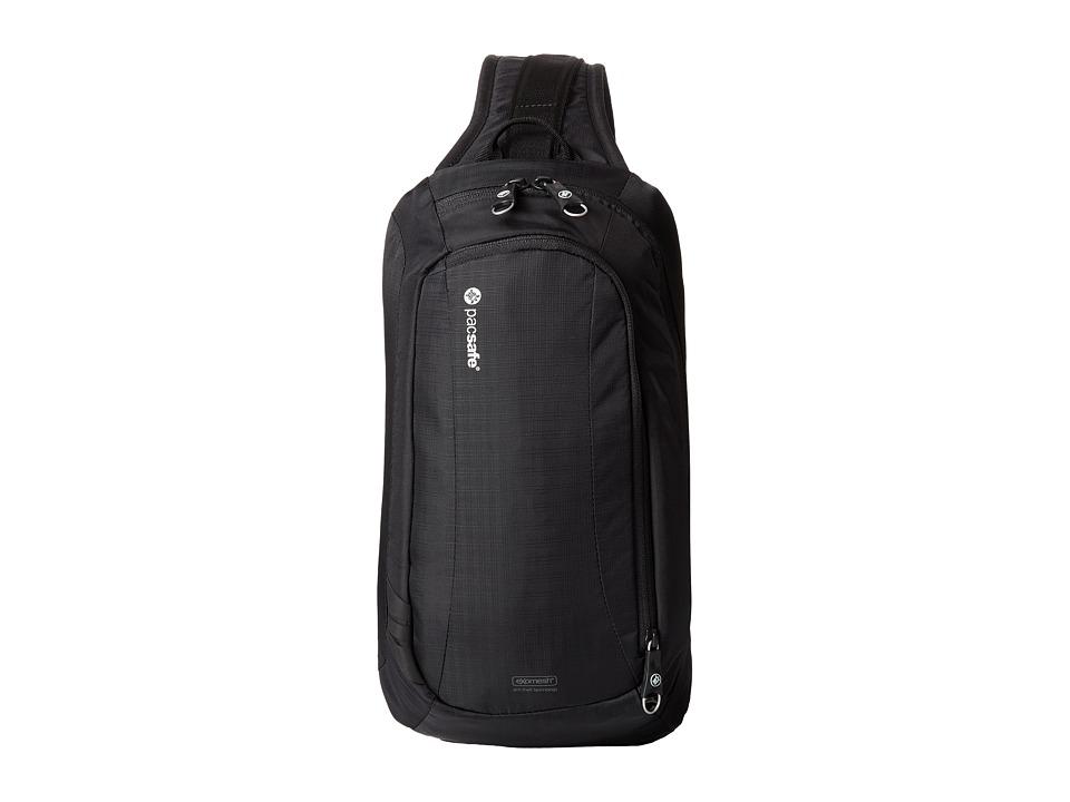 Pacsafe - Venturesafe 325 GII Anti-Theft Crossbody Pack (Black) Cross Body Handbags