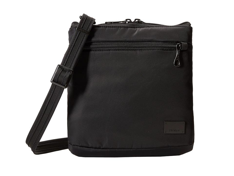 Pacsafe - Citysafe CS50 Anti-Theft Crossbody Purse (Black) Cross Body Handbags
