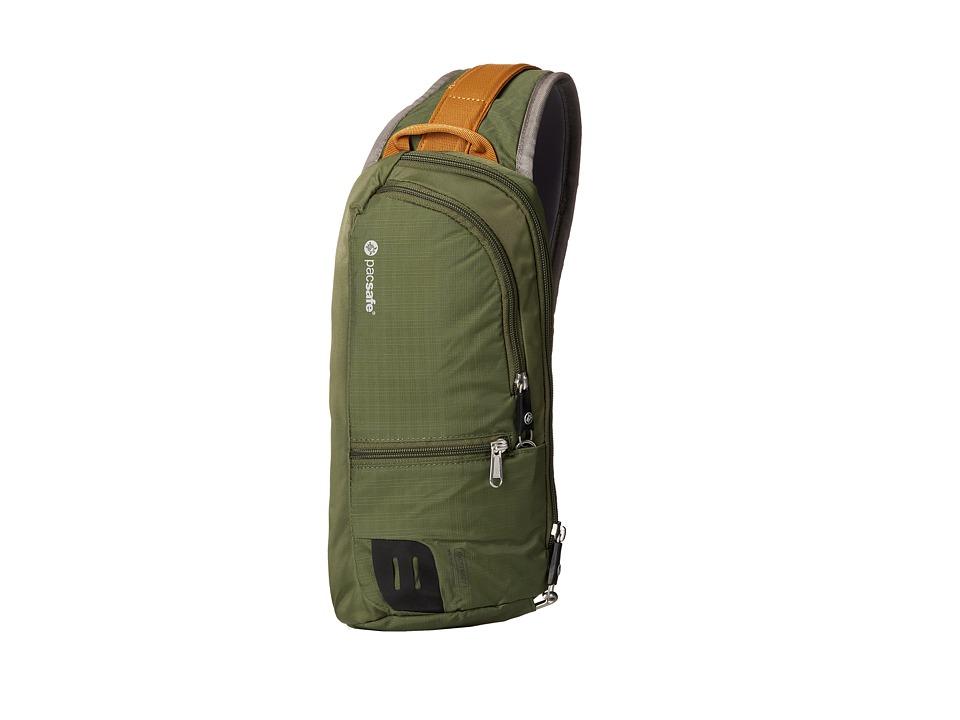 Pacsafe - Venturesafe 150 GII Anti-Theft Crossbody Pack (Olive/Khaki) Cross Body Handbags