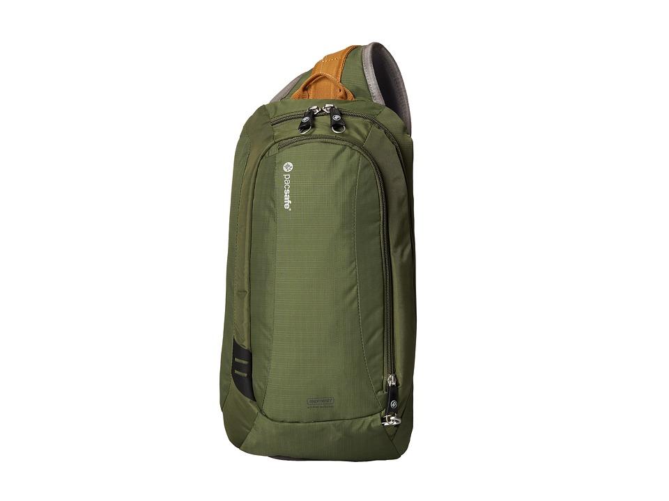 Pacsafe - Venturesafe 325 GII Anti-Theft Crossbody Pack (Olive/Khaki) Cross Body Handbags