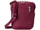 Pacsafe Citysafe CS75 Anti-Theft Crossbody Travel Bag (Cranberry)